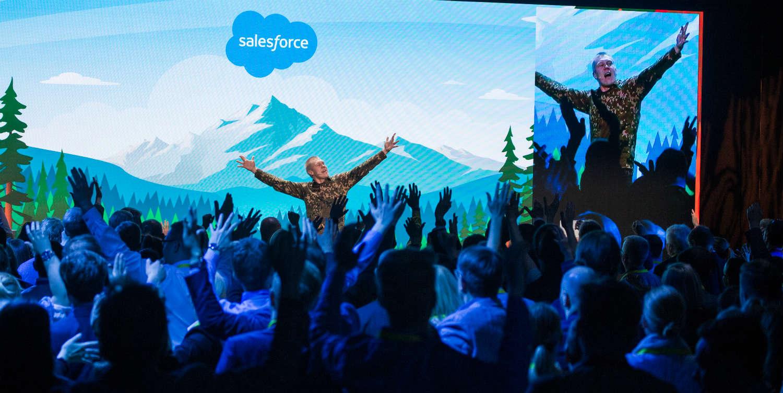 Hatsolo liekitti Salesforcen Basecamp tapahtumassa