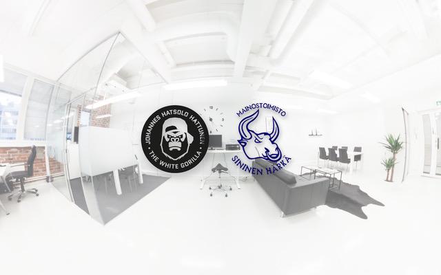 Sininen Härkä laittoi Valkoisen Gorillan nettisivut uuteen uskoon!